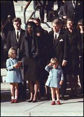 JFK, Jr. salutes dead father 11-24-63